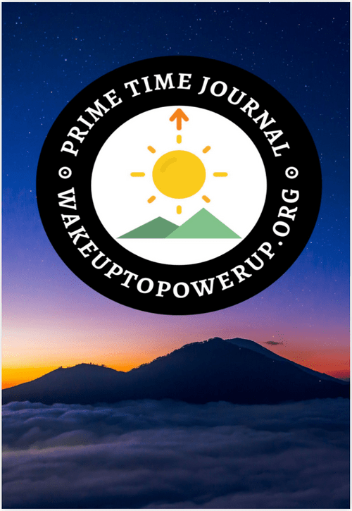 PowerUp Prime Time 30-Day Journal - 4th Edition (2021)