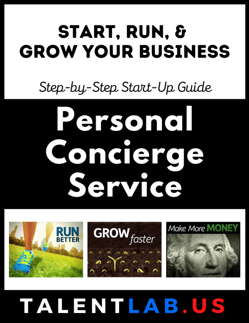 Personal Concierge Service - Step-By-Step Startup Guide Kindle eBook