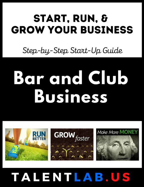 Bar and Club Business - Step-By-Step Startup Guide Kindle eBook