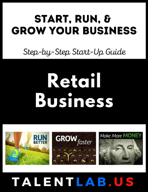 Retail Business - Step-By-Step Startup Guide Kindle eBook