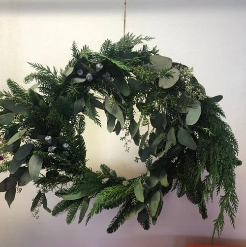 Holiday wreaths IN PERSON Nov. 14