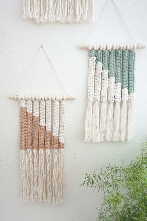 Color Block Wall Hanging - Online May 9