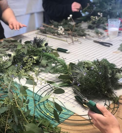 Fall wreaths IN PERSON Sept. 26