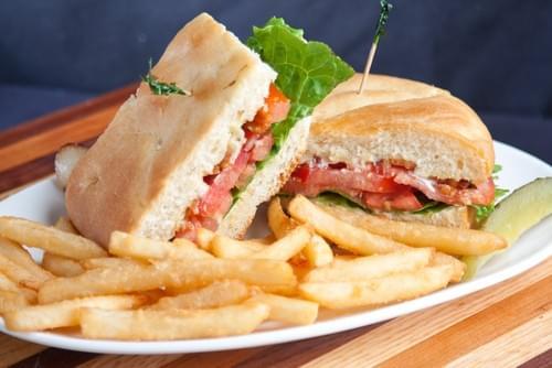 The Bodacious BLT sandwich