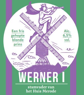 Werner I - een fris gehopte blonde prins