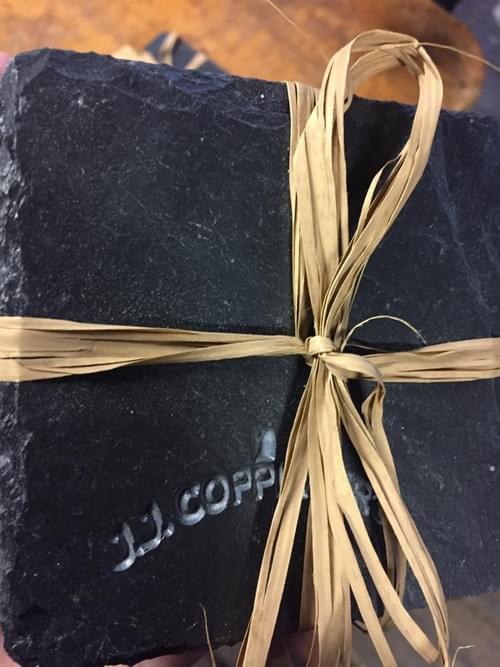 Handmade Whiskey Coasters