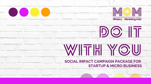DO IT WITH YOU - SOCIAL IMPACT CAMPAIGN PACKAGE FOR STARTUP & MICRO BUSINESS