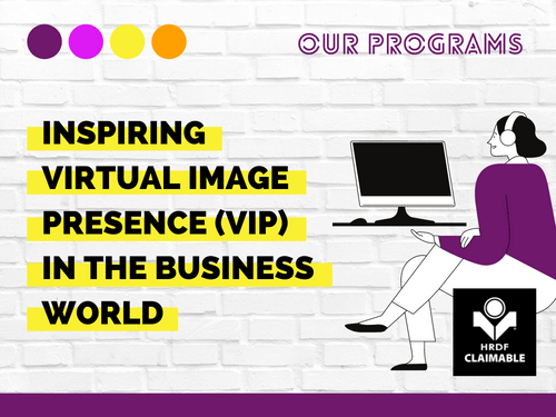 Inspiring VIP (Virtual Image Presence) in the Business World