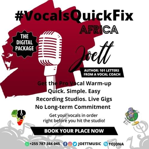 Vocals Quick Fix Digital Package (FREE DOWNLOAD)