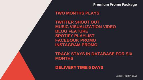 Premium Promo Package