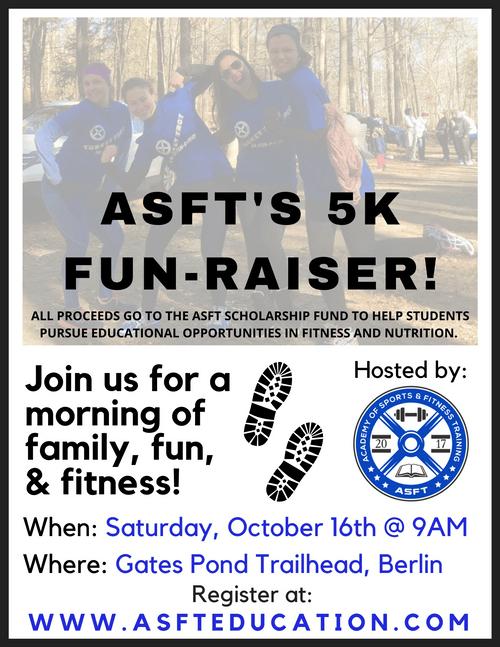 ASFT's 5K FUN-RAISER!