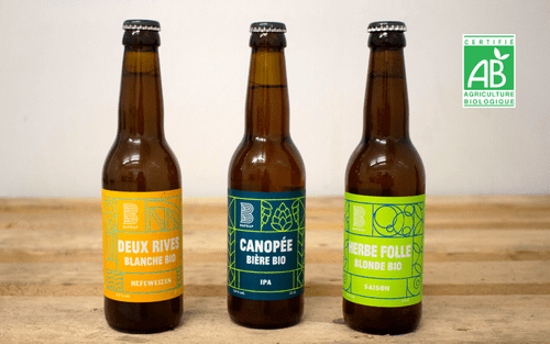 Bière BIO (au choix) - 1 33cL - brasserie Bap Bap (Paris 11e arrondissement)