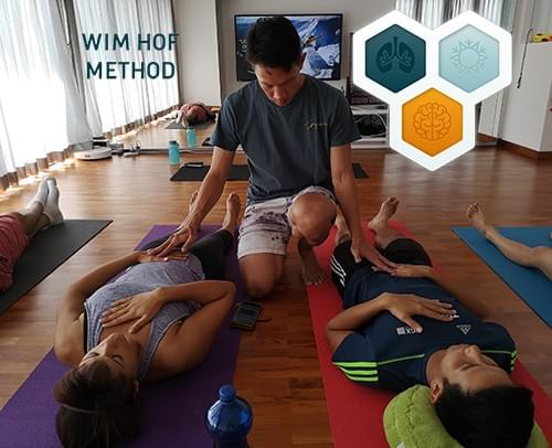 10 x Wim Hof Method - Guided breathwork and ice immersion ($45 each)