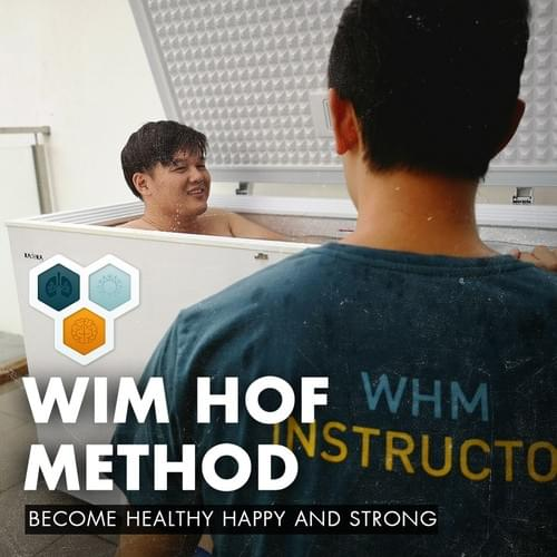 1 x Wim Hof Method - Guided breathwork and ice immersion [Fundamentals required]