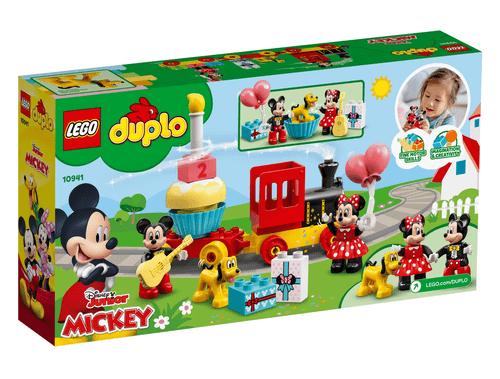 LEGO 樂高 Duplo 10941 -米奇&米妮生日火車