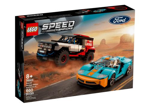 LEGO 樂高 76905 Speed 福特GT歷史特仕版 & Bronco R