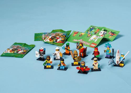 LEGO 樂高 71029 Minifigures 第21代人偶抽抽包  一套12隻