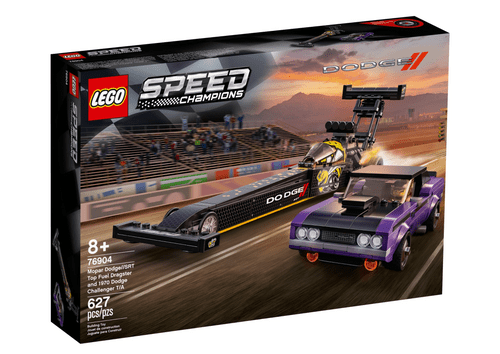 LEGO 樂高 76904 Speed 道奇Top Fuel & 1970 挑戰者T/A