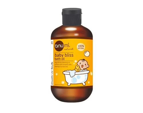 anumi 天然植萃橄欖寶寶沐浴油