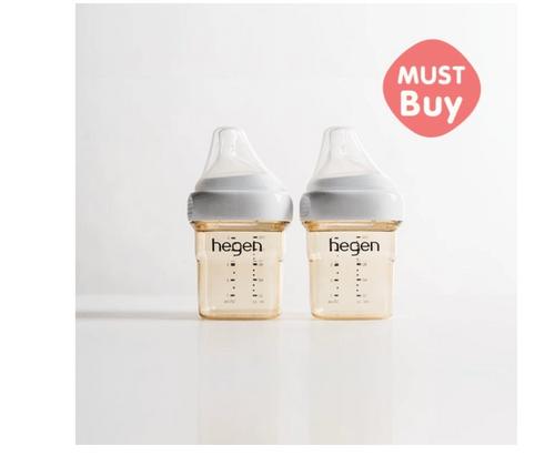金色奇蹟PPSU多功能方圓型寬口奶瓶 150ml (雙瓶組)