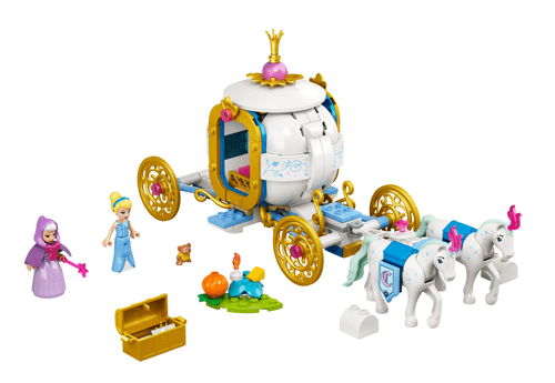 LEGO 樂高 43192 Disney-仙杜瑞拉的皇家馬車
