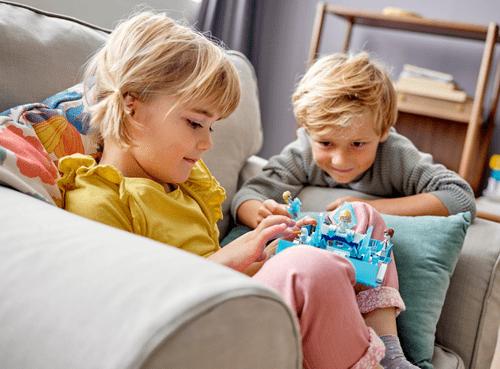 LEGO 樂高 43189 Disney-艾莎與水靈諾克的口袋故事書