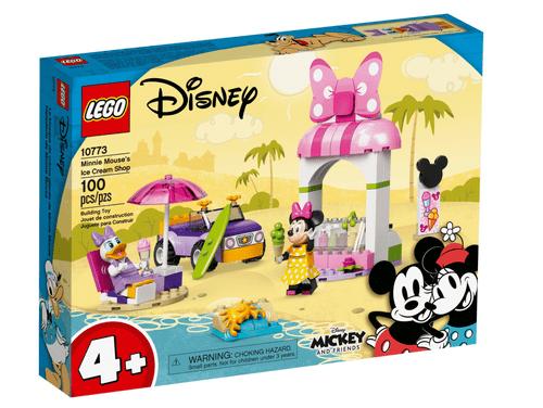 LEGO 樂高 10773 Disney 米妮冰淇淋商店