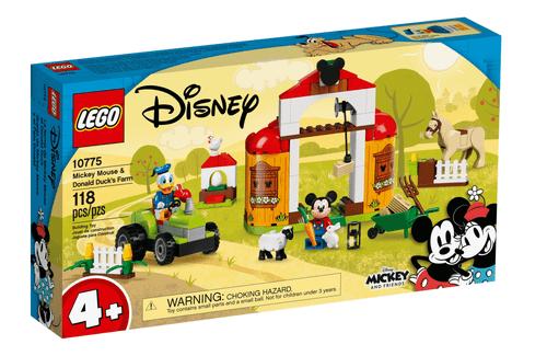LEGO 樂高 10775 Disney 米奇&唐老鴨農場
