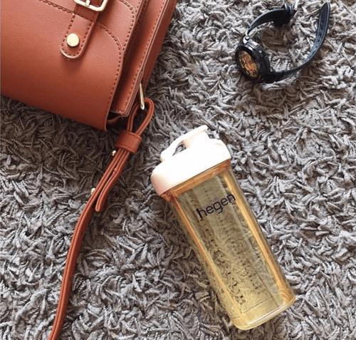 金色奇蹟PPSU多功能方圓型寬口水瓶 330ml