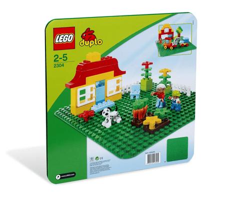 LEGO 樂高 2304 Doplo系列大底板(綠)