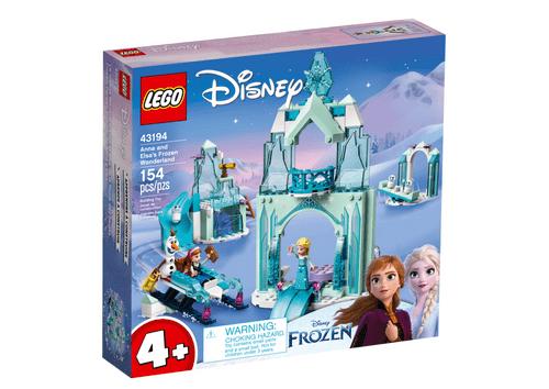 LEGO 樂高 43194 Disney 安娜和艾莎的冰雪奇境