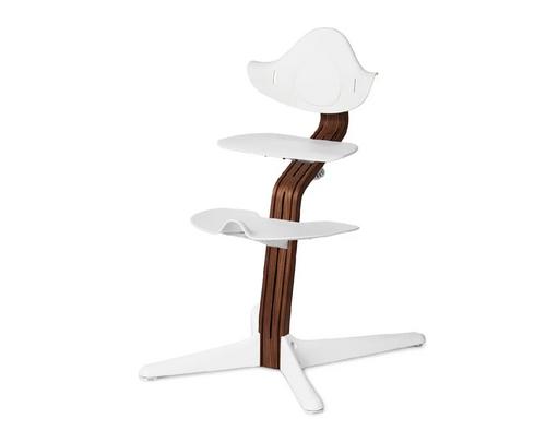 nomi多階段成長椅 主體(升級胡桃木)-白色