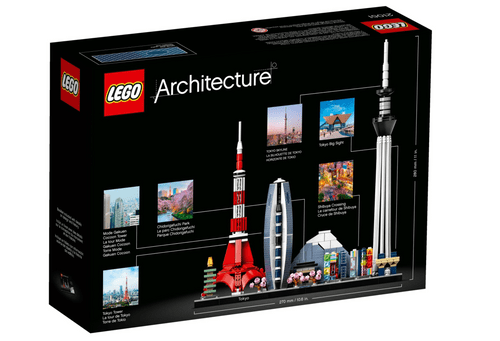 LEGO 樂高 Architecture 21051 Tokyo Japan 東京 日本