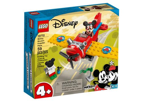 LEGO 10772 Disney 米奇螺旋槳飛機