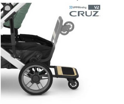 【UPPAbaby】CRUZ V2推車輔助踏板(適用CRUZ V2)