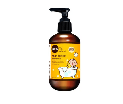 anumi天然植萃寶寶洗髮沐浴精