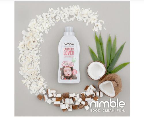Nimble 植萃溫和洗衣精 715ml