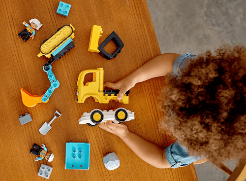 LEGO 樂高 Duplo 10931 卡車&挖土機