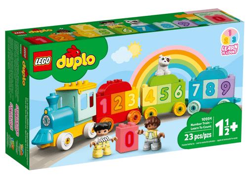 LEGO 樂高 10954 Duplo 數字列車-學習數數