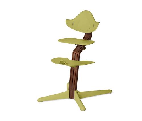 nomi多階段成長椅 主體(升級胡桃木)-草綠