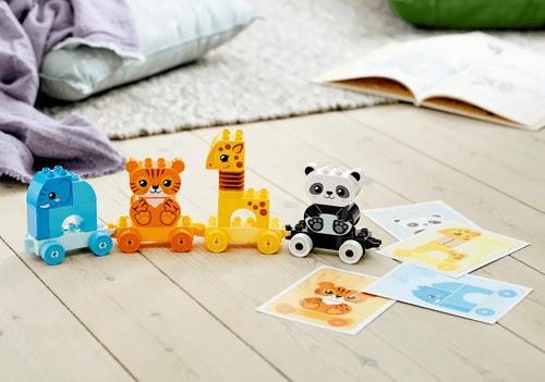 LEGO 樂高 Duplo 10955 動物火車