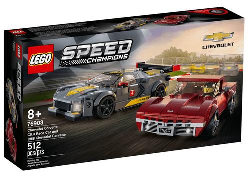 LEGO 樂高 76903 Speed 雪佛蘭 C8.R & 1968