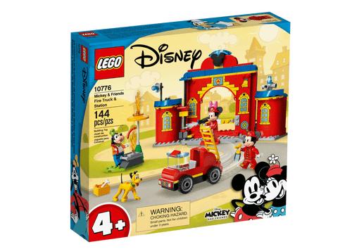 LEGO 樂高 10776 米奇和朋友們的消防局