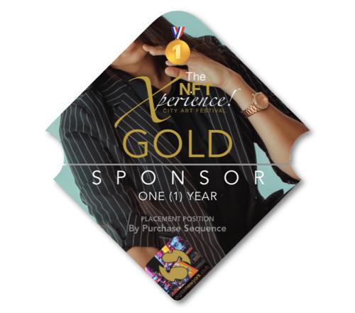 GOLD Sponsor (1Y) NFT