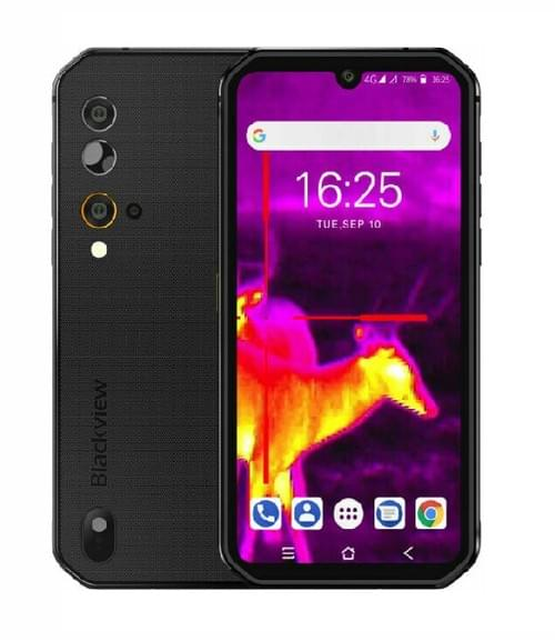 BV9900 PRO - World's Fastest Rugged Smartphone with Thermal Imaging (Grey)