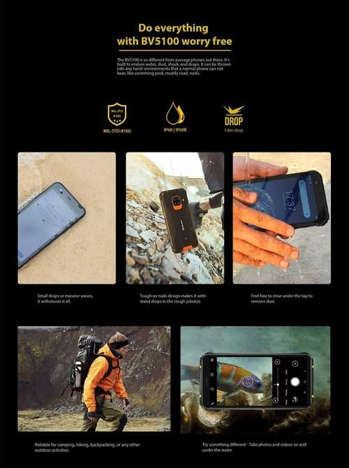 BV5100 - The Newest Mid-Ranger Rugged Smartphone