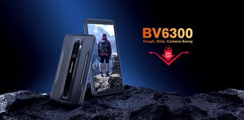 BV6300 - Lower-Midrange Rugged Smart Phone with Android 10 (Black) (T-Mobile Only)
