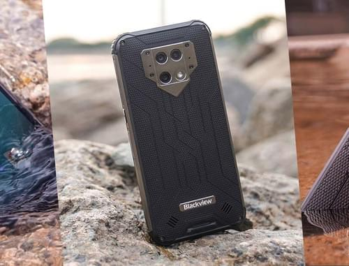 BV9800 /BV9800 Pro - Plus-Sized Rugged Smartphone with FLIR Thermal Camera