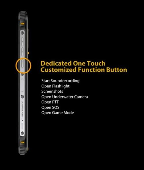 BV5100 - The Newest Mid-Ranger Rugged Smartphone (Black)