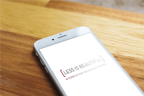 Digital version Less is Beautiful